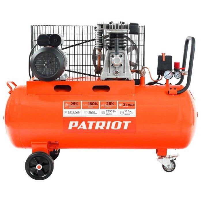 масляный PATRIOT PTR 100-440I, 100 л, 2.2 кВт