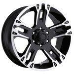 Ultra Wheel 234-235 Maverick 9.5x22/6x139.7 D106.1 ET15 Gloss Black/Diamond Cut
