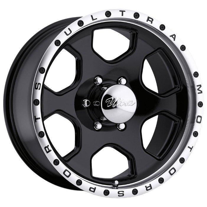 Ultra Wheel 175 Rogue 8x15/6x139.7 D108 ET-19 Gloss Black