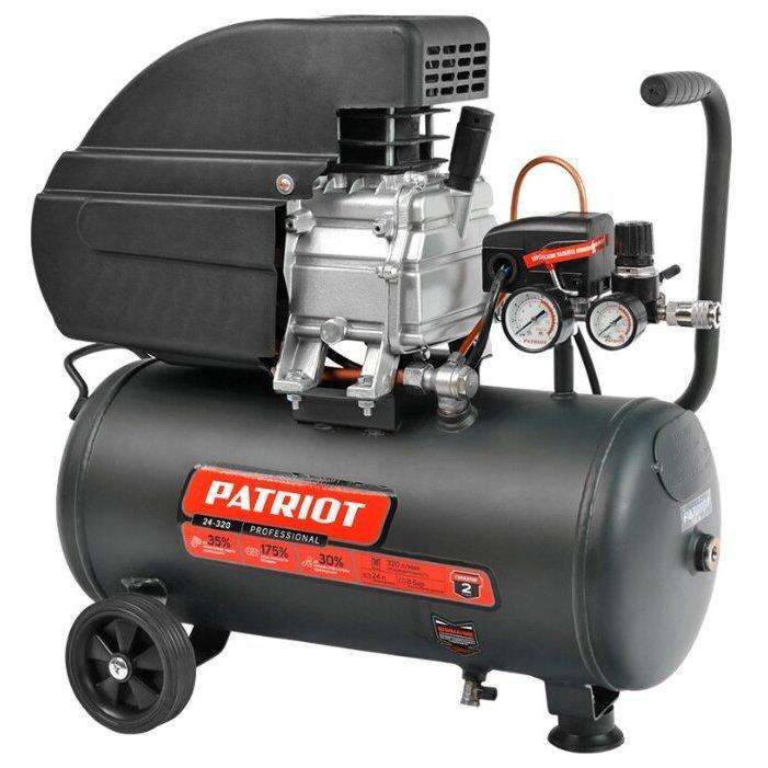 масляный PATRIOT Professional 24-320, 24 л, 2 кВт