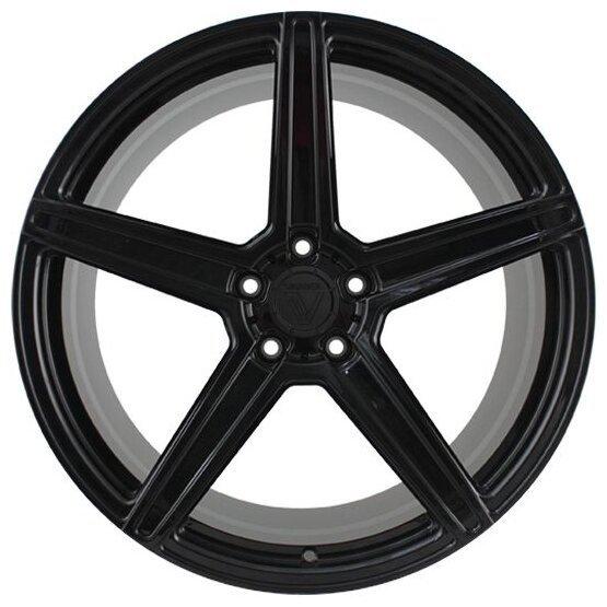 Колесный диск Vissol F-505 10.5x20/5x112 D66.6 ET30 Gloss Black фото, картинка slide3