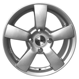P&W P0470 6.5x15/5x112 D73.2 ET45 Silver