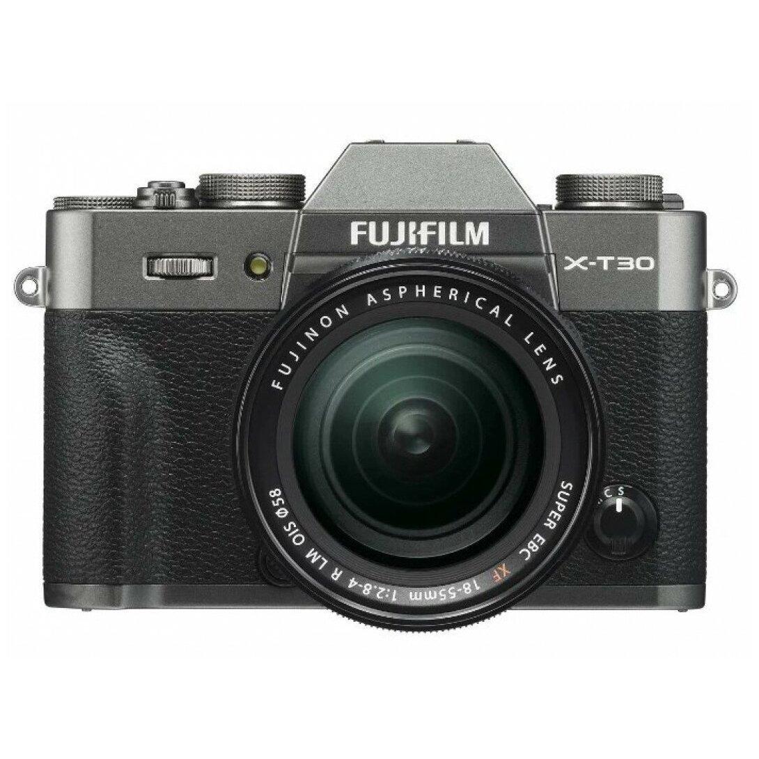 Fujifilm X-T30 Kit XF 18-55mm f/2.8-4.0 темное серебро