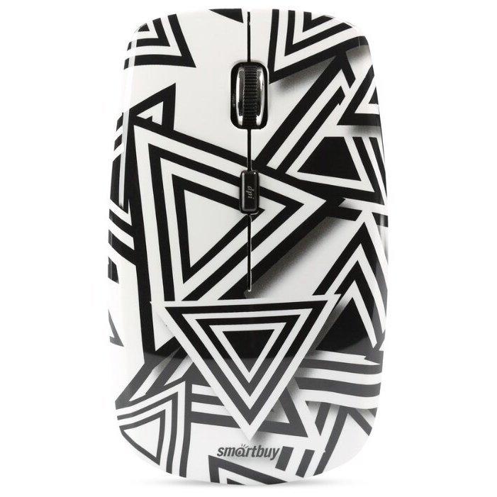SmartBuy SBM-327AG-D-FC Black-White USB