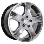 Storm Wheels BK-070 7x16/5x130 D84.1 ET43 Silver