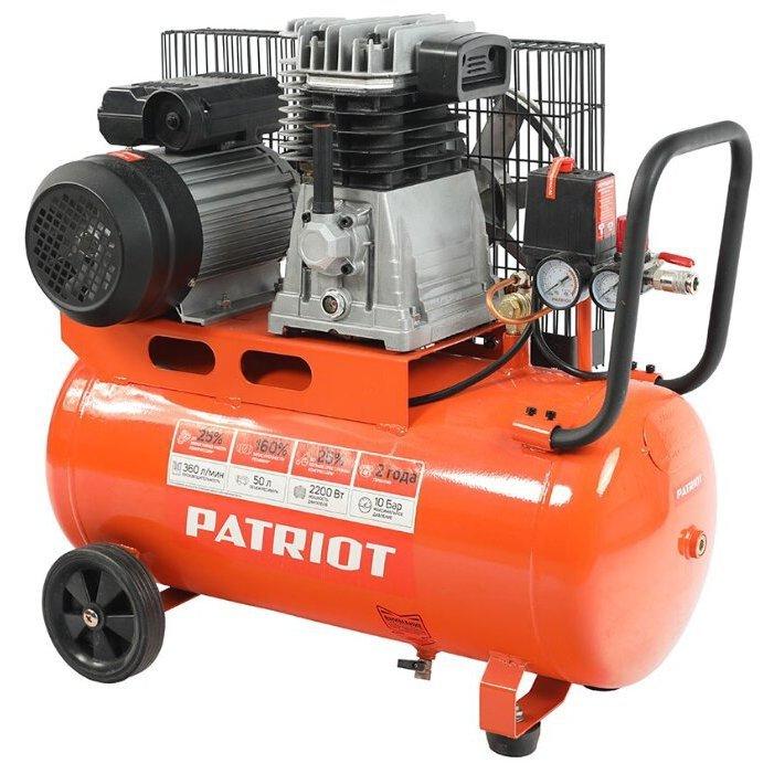 масляный PATRIOT PTR 50-360I, 50 л, 2.2 кВт