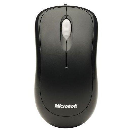 Microsoft Basic Optical Mouse 4YH-00007 Black USB