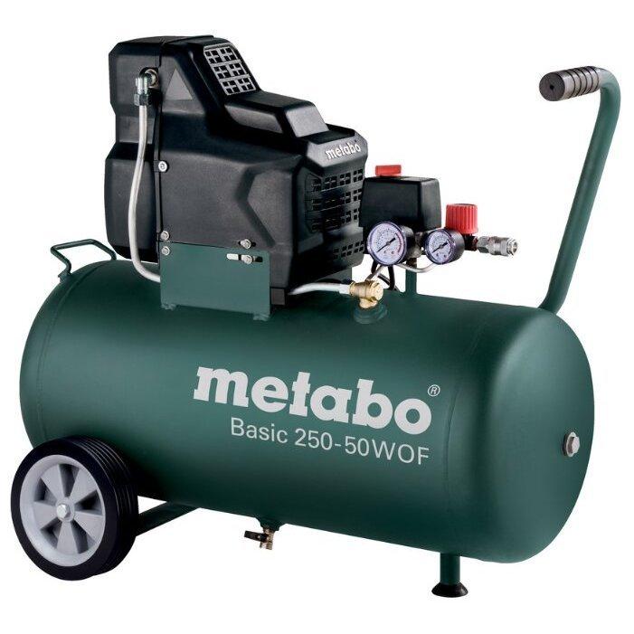 безмасляный Metabo Basic 250-50 W OF, 50 л, 1.5 кВт