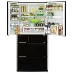 Hitachi R-E6800U XK черный – купить холодильник, сравнение цен интернет-магазинов: фото, характеристики, описание | E-Katalog