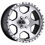 Ultra Wheel 175 Rogue 10x17/6x139.7 D108 ET-25 Diamond Cut
