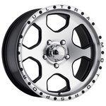 Ultra Wheel 175 Rogue 10x15/5x139.7 D108 ET-44 Diamond Cut