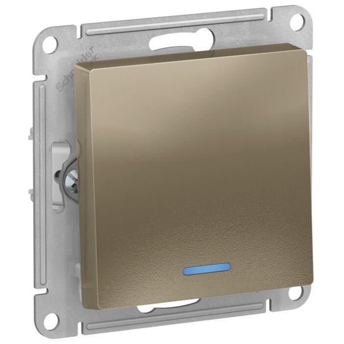 Выключатель 1-полюсный Schneider Electric AtlasDesign ATN000513,10А, слоновая кость