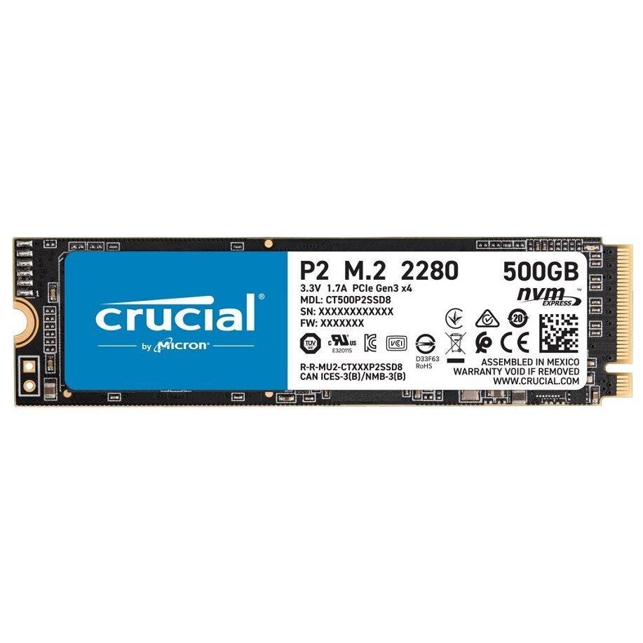 Crucial 500 GB CT500P2SSD8