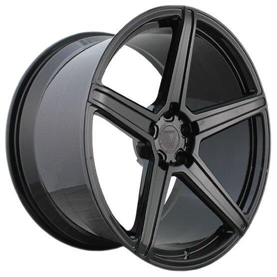 Колесный диск Vissol F-505 10.5x20/5x112 D66.6 ET42 Gloss Black фото, картинка slide1