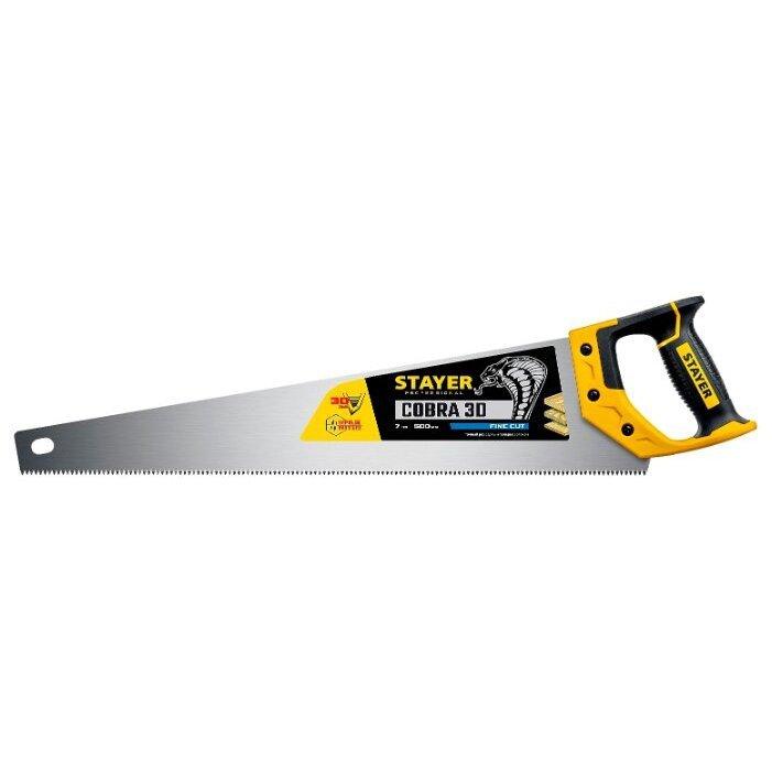Ножовка по дереву STAYER 1512-50_z01 500 мм