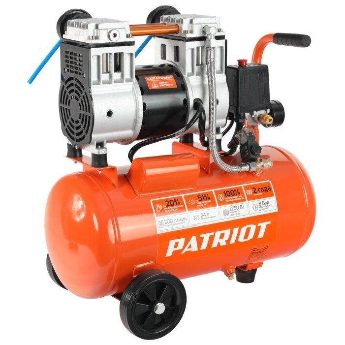 безмасляный PATRIOT WO 24-220, 24 л, 1.25 кВт