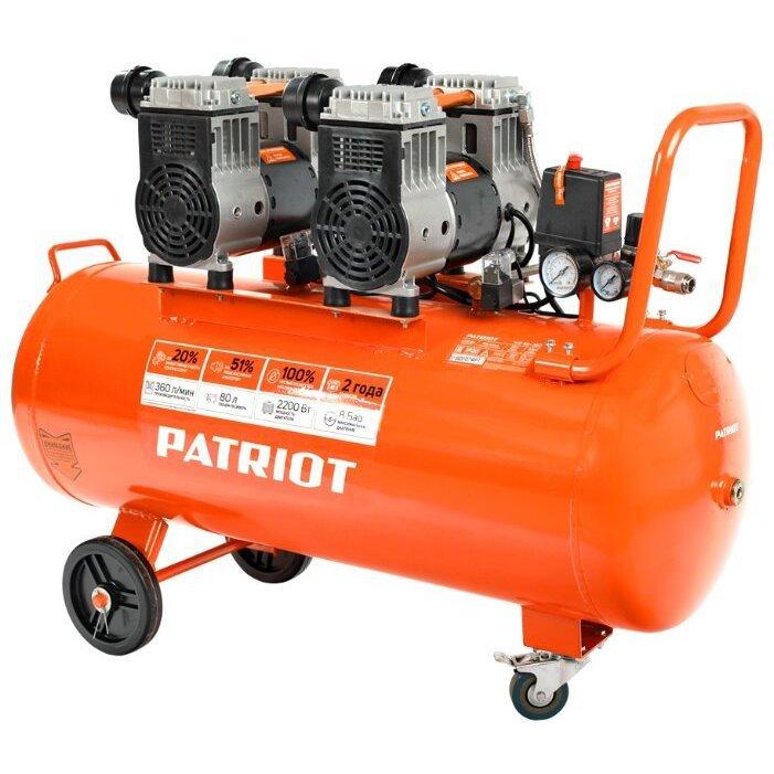 безмасляный PATRIOT WO 80-360, 80 л, 2.2 кВт