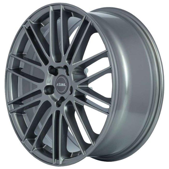 RIAL Kibo 8x19/5x114.3 D70.1 ET40 Metal Grey
