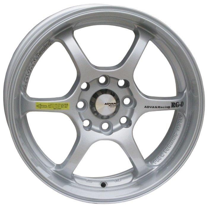 Advan RGD 6.5x15/4x100 D67.1 ET38 Silver