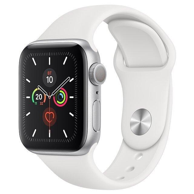 Часы Apple Watch Series 5 GPS 40mm Aluminum Case with Sport Band