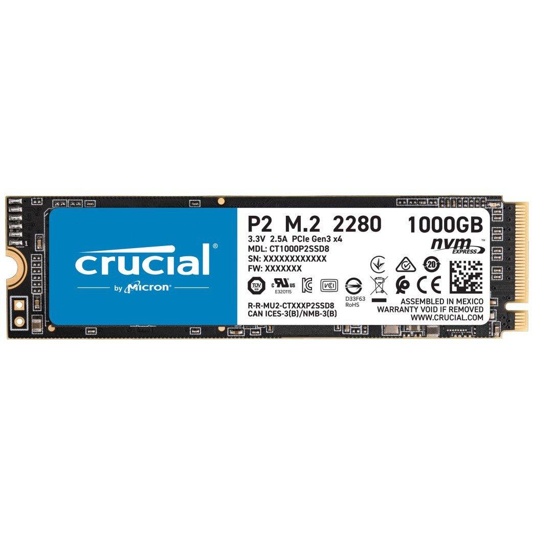 Crucial 1000 GB CT1000P2SSD8