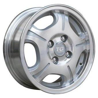 TGRACING LZ018 5.5x14/4x108 D65.1 ET24 Silver
