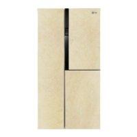 Отзывы покупателей о Холодильник LG GC-M502HEHL цвет бежевый на сайте интернет-магазина Корпорация Центр