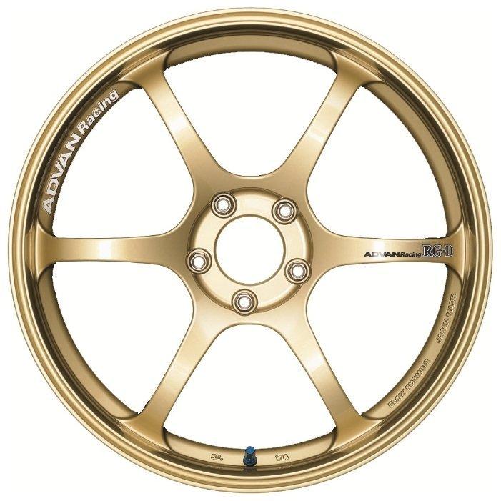 Advan RGD 8.5x18/5x114.3 D73 ET33 Gold