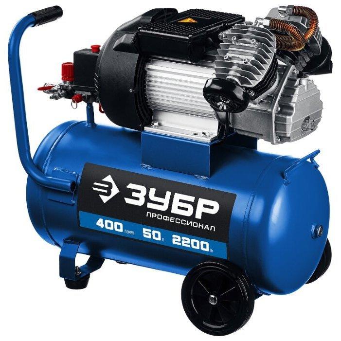 масляный ЗУБР КПМ-400-50, 50 л, 2.2 кВт