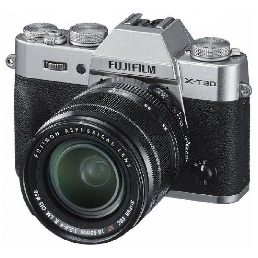 Fujifilm X-T30 Kit XF 18-55mm f/2.8-4.0 серебро