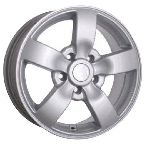Storm Wheels YQ-034 7x16/5x118 D71.1 ET50 Silver