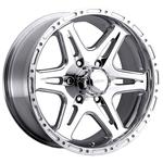 Ultra Wheel 207-208 Badlands 9x17/6x139.7 D108 ET0 Polished