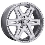 Ultra Wheel 207-208 Badlands 10x15/5x127 D83 ET-44 Polished
