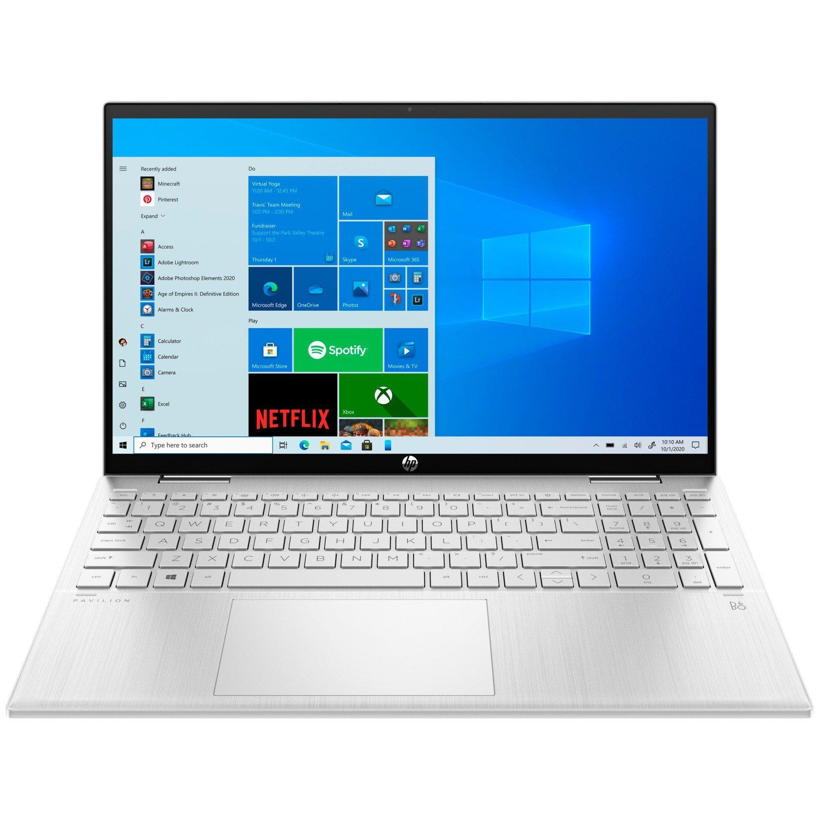 "HP PAVILION x360 15-er0002ur (Intel Core i3 1125G4 2000MHz/15.6""/1920x1080/8GB/256GB SSD/Intel UHD Graphics/Windows 10 Home)"