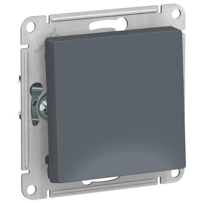 Выключатель 1-полюсный Schneider Electric AtlasDesign ATN000711,10А, серый