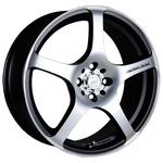 Racing Wheels H-125 7x16/4x98 D58.6 ET35 BK F/P