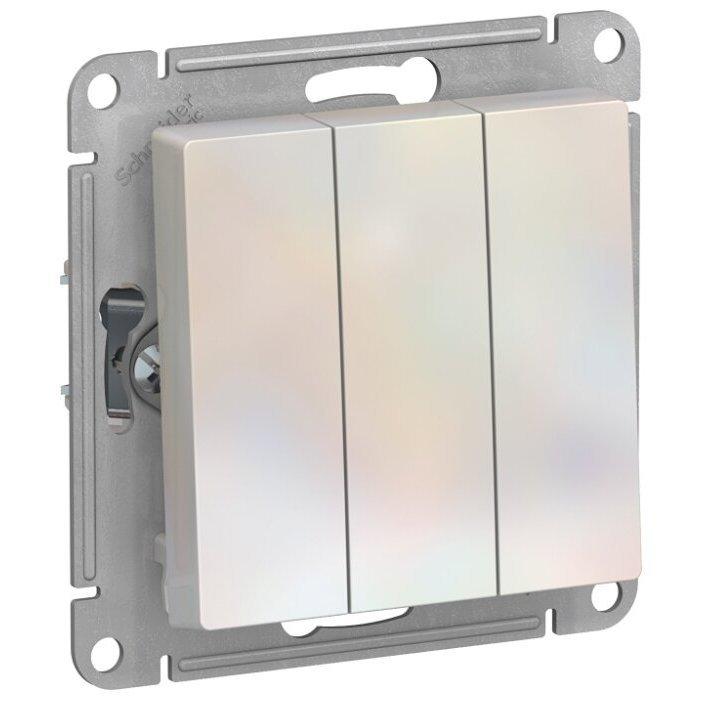 Выключатель 3х1-полюсный Schneider Electric AtlasDesign ATN000431,10А