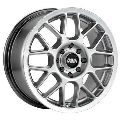 ASA Wheels EM9 7x16/10x114.3 D73 ET40 Silver фото, картинка slide1