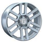 Storm Wheels SLR-253 7.5x18/6x139.7 D106.1 ET25 Silver