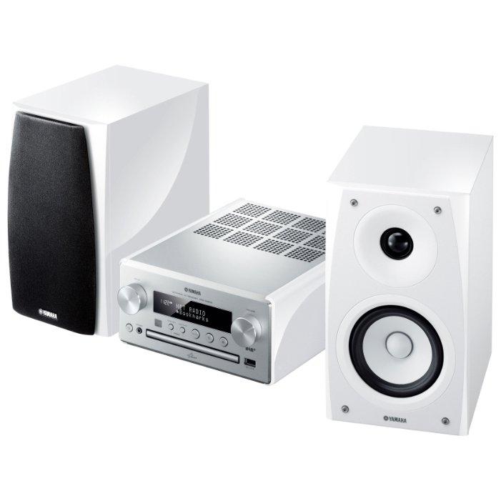 Yamaha PianoCraft MCR-N560D silver/white