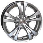 RS Wheels 089f 5.5x13/4x100 D56.6 ET35 Silver