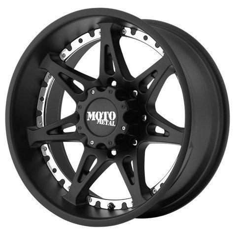 MOTO Metal MO961 9x20/8x165 D125 ET18 S-Black фото, картинка slide1