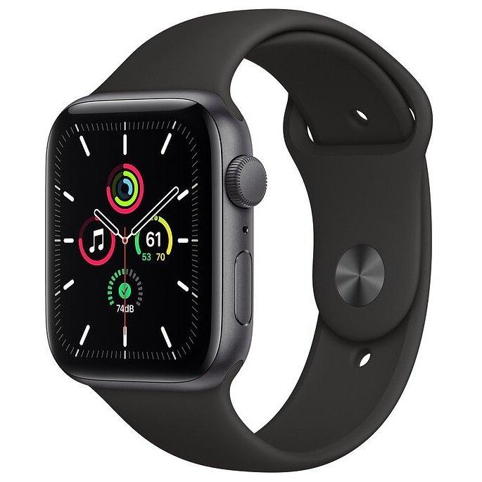 Умные часы Apple Watch SE GPS 44mm Aluminum Case with Sport Band