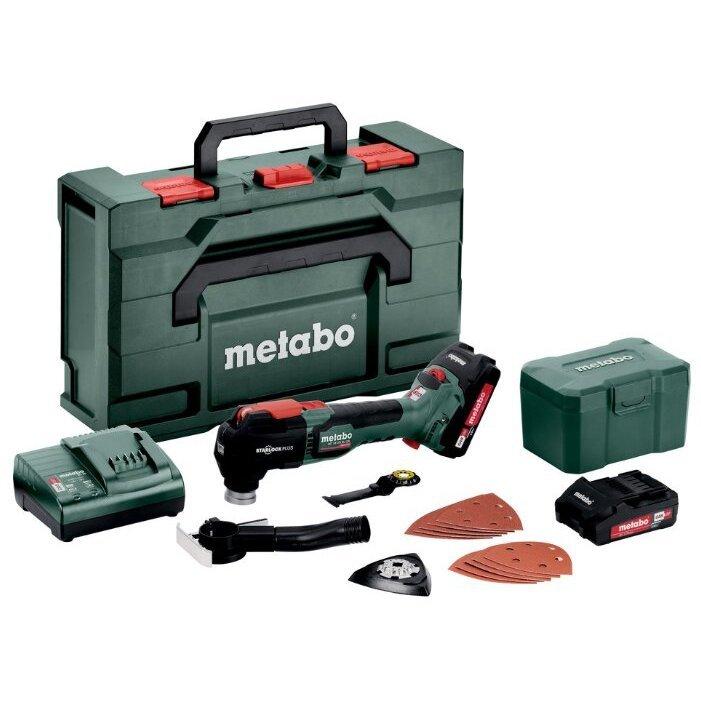 Metabo MT 18 LTX BL QSL 2x2,0 Ач, кейс