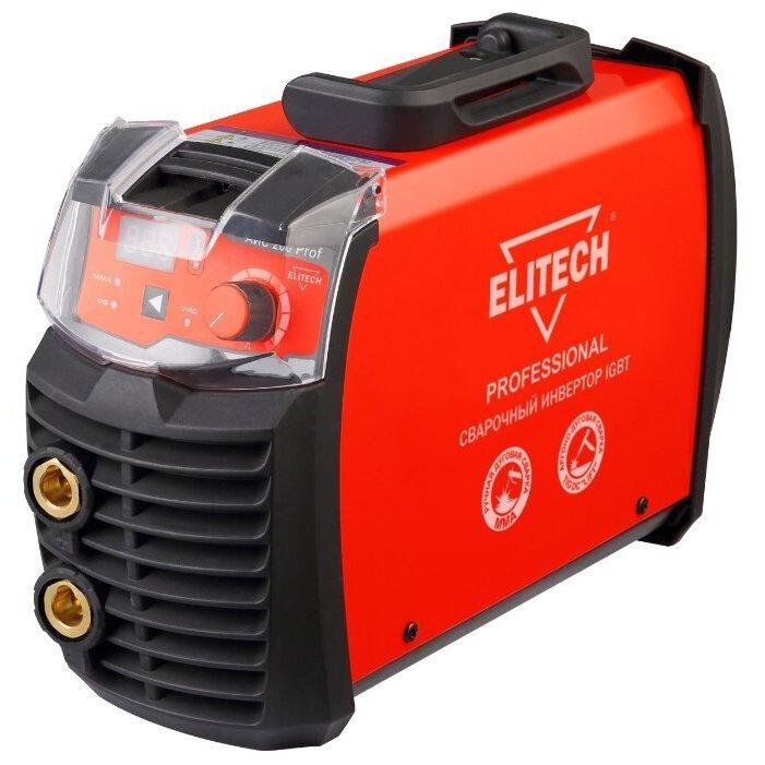 Сварочный инвертор мма elitech аис 200prof / отзывы владельцев, характеристики, цены, где купить