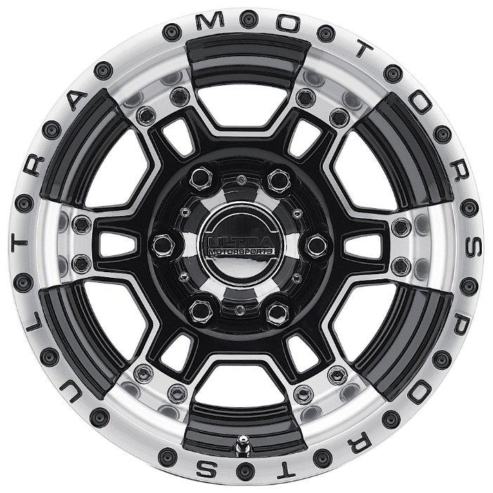 Ultra Wheel 178 Mongoose 9x17/6x139.7 D106.1 ET12 Gloss Black w/Diamond Cut
