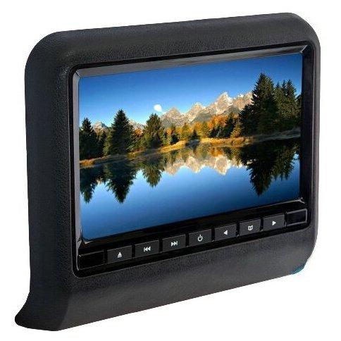 Ergo Навесной монитор ERGO ER9L Black (USB, SD, DVD)
