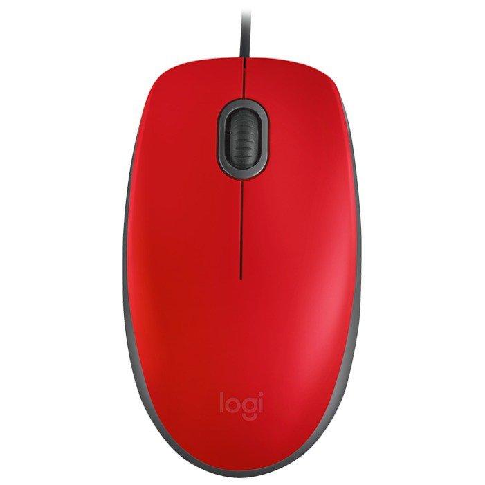 Logitech M110 Silent Red USB