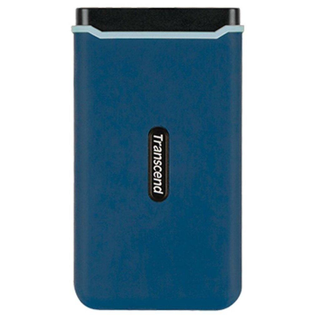 """Внешний SSD-накопитель 2.5"""" 250Gb Transcend ESD370C TS250GESD370C (SSD) USB 3.1 Type-C"""