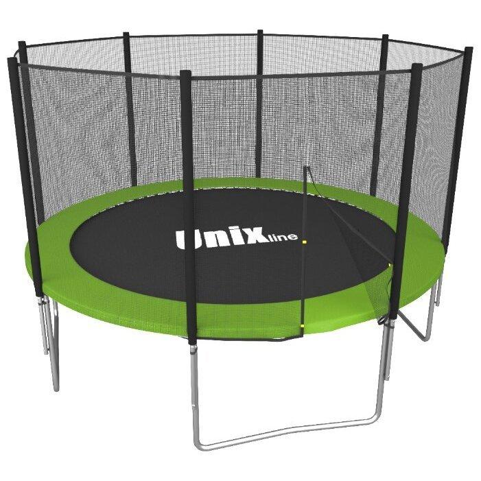 Каркасный батут Unix Line 6ft Simple (outside) 183х183х215 см фото, картинка slide1